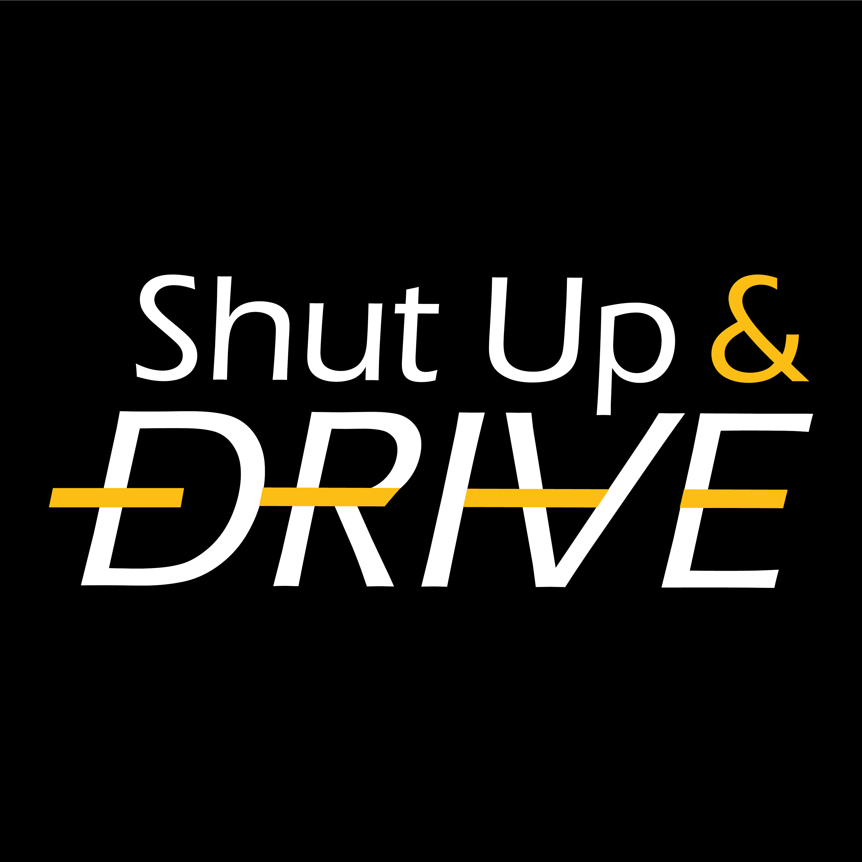 Logo for Shut Up and Drive